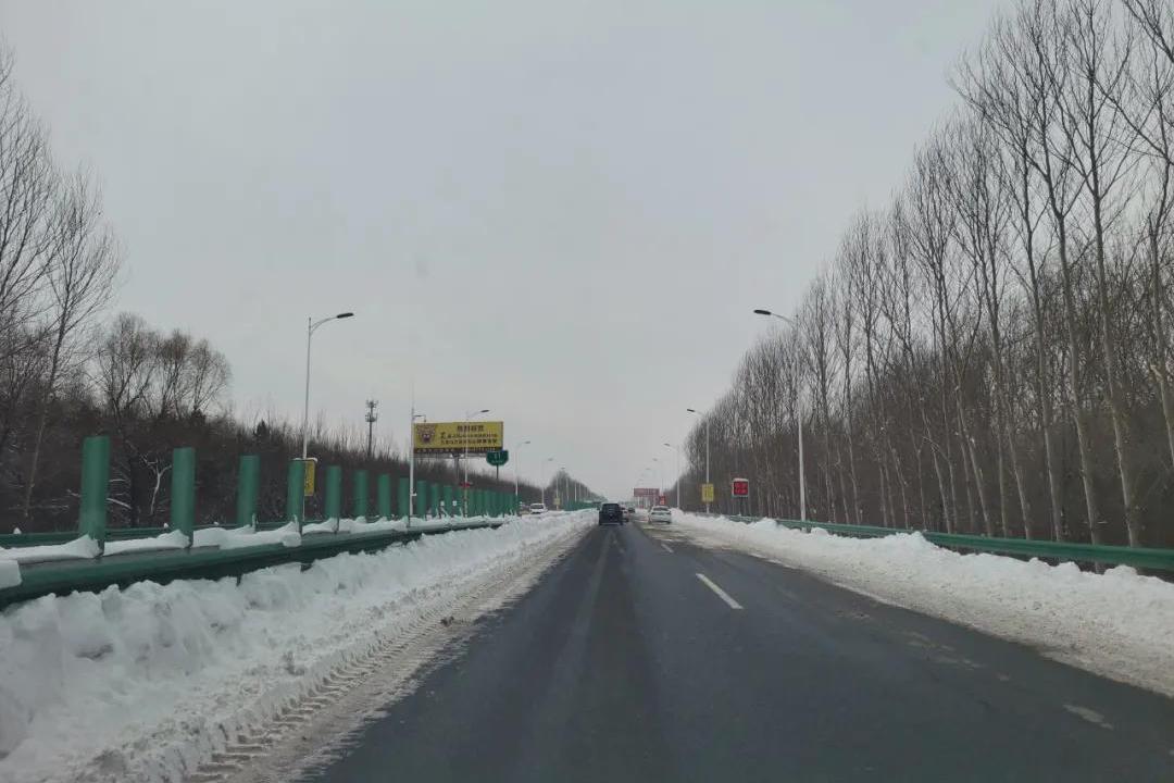 提速了!哈尔滨机场高速大部分路段已实现双向两车道通行