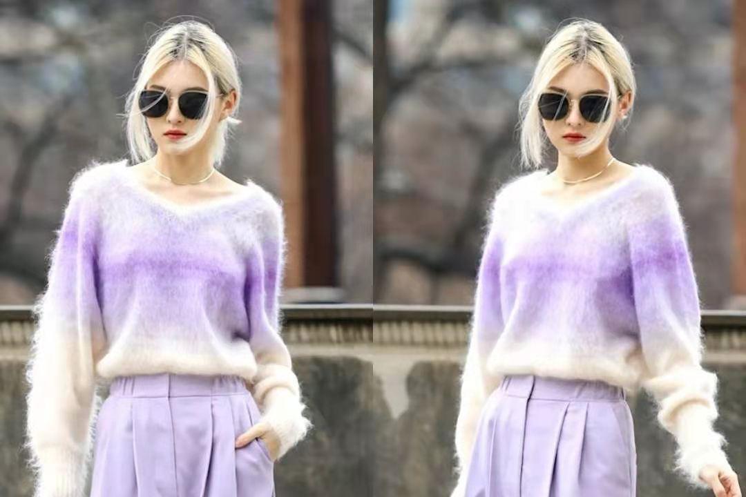 彩色针织衫才是春季时尚潮流的代表,你穿对了吗?