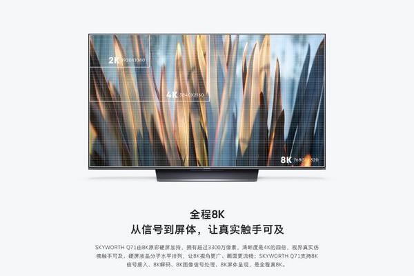 创维电视加码技术赋能 开启新一轮8K技术革命先河