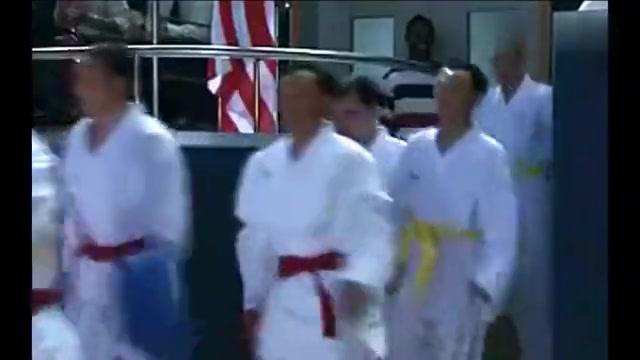 功夫:李小龙一生最辉煌的一战,全美空手道大赛冠军争夺战!