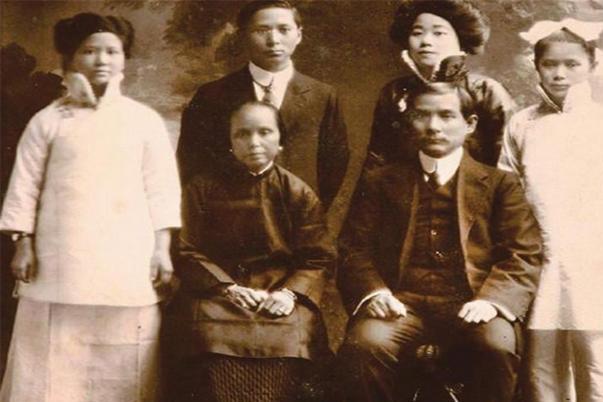 国父孙中山58岁因病去世,留下4个子女,后来命运结局如何?