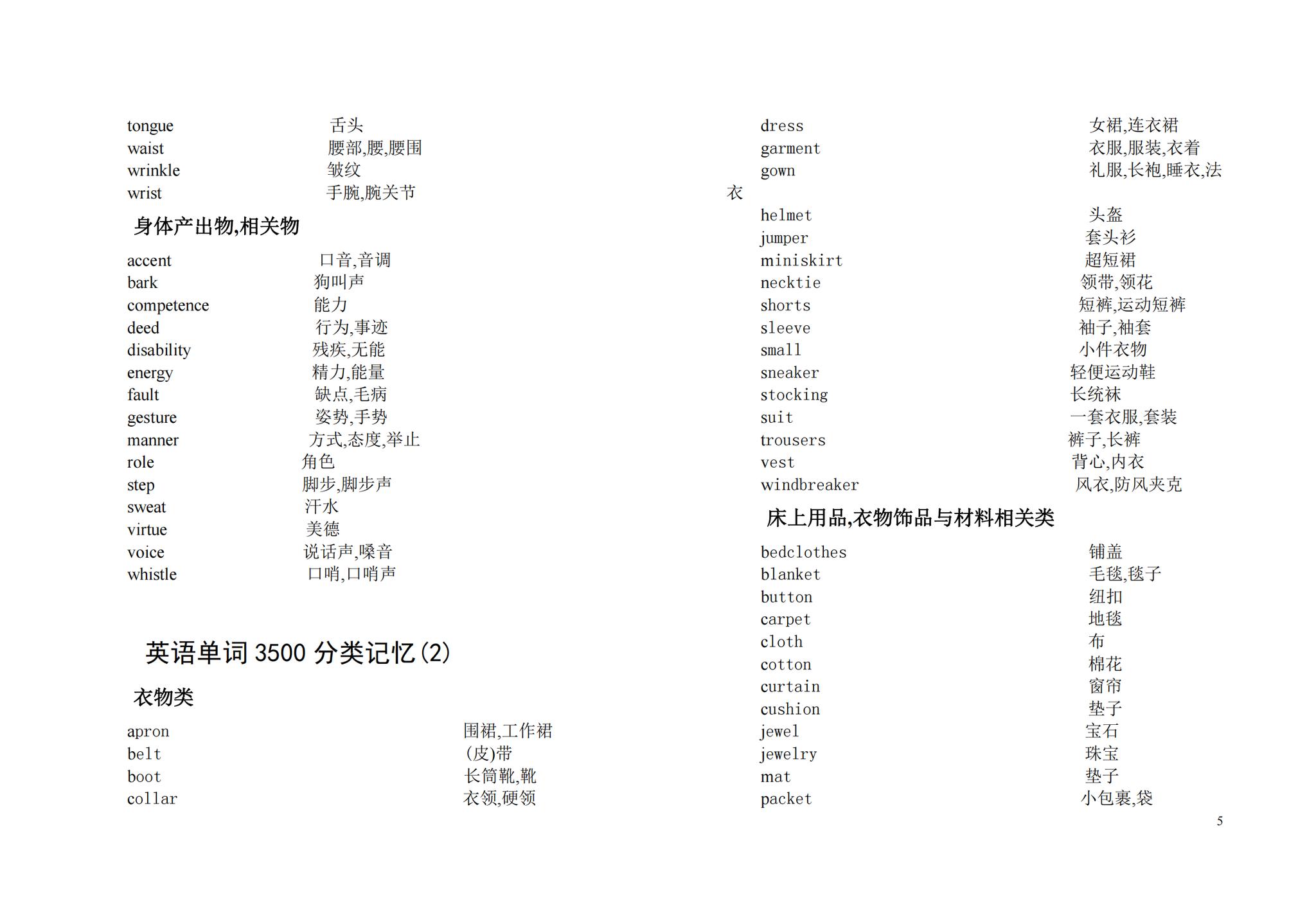 高中英语单词分类整理,给你不一样的记忆方法,七天完美背诵