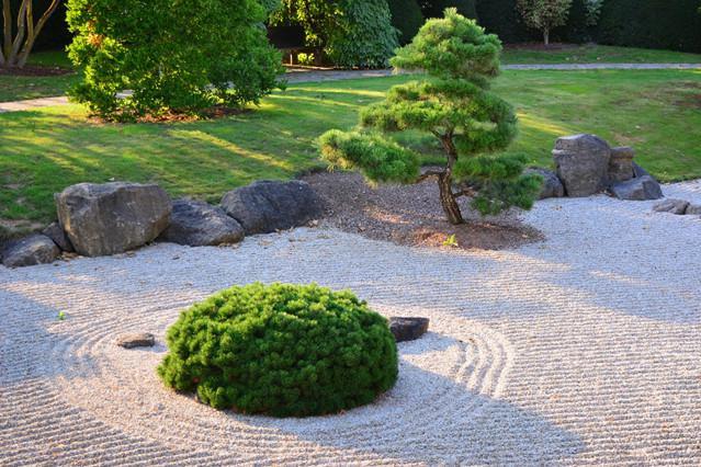 禅意庭院,简约而不简单,优雅又静谧!
