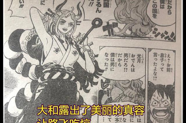 海贼王:大和看过罗杰的航海日志,尾田确认大和是凯多的女儿