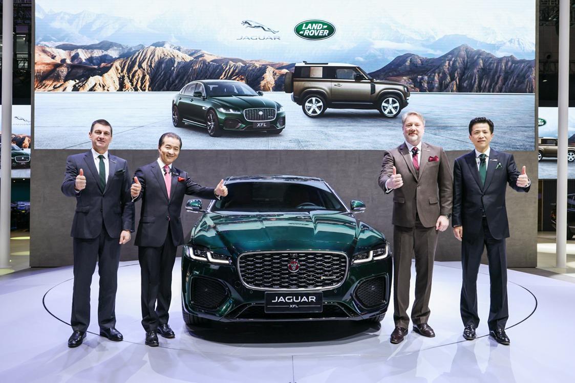 """五款新车与""""重塑未来""""点亮上海车展,捷豹路虎聚焦未来眼光独具"""