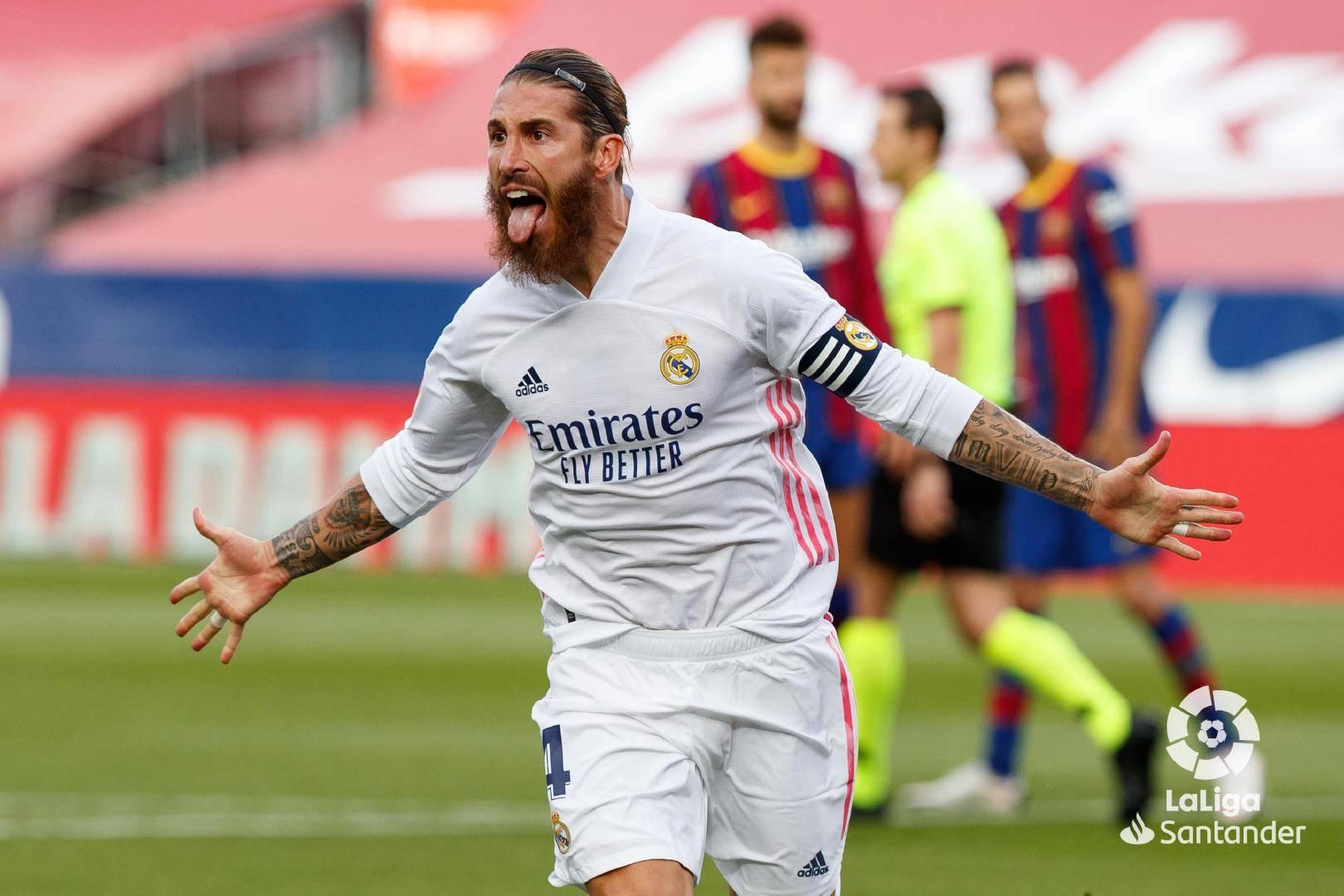 西甲联赛第7轮巴塞罗那1:3皇家马德里,法蒂为巴塞罗那进球