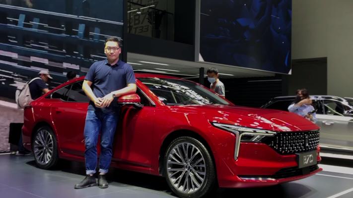 视频:或将成为现象级自主B级车!第三代奔腾B70回归!