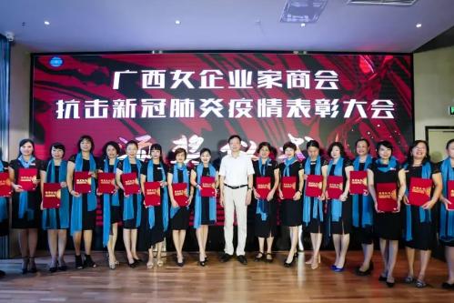驭龙电焰参加广西抗击新冠肺炎疫情表彰大会