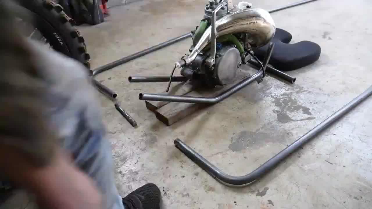川崎摩托车拆了改造成卡丁车,这事一般人干不出来,服了服了