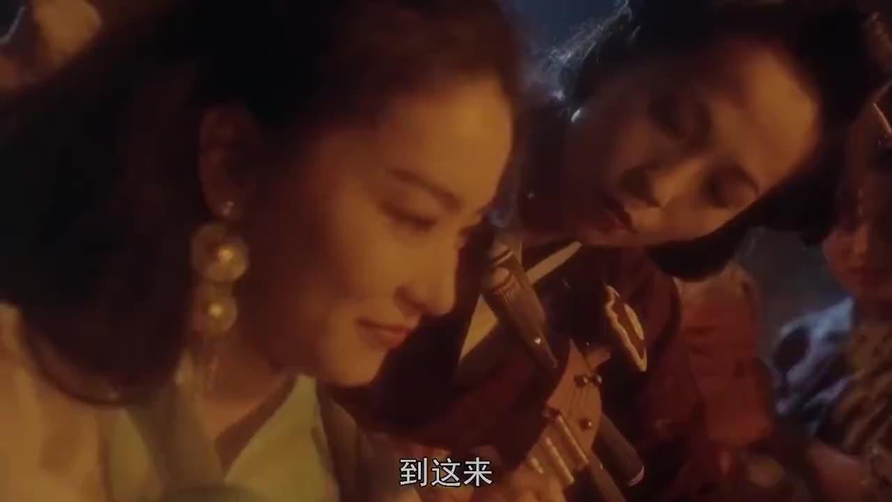 林青霞赤脚弹琵琶,音乐响起,鸡皮疙瘩都起来了!