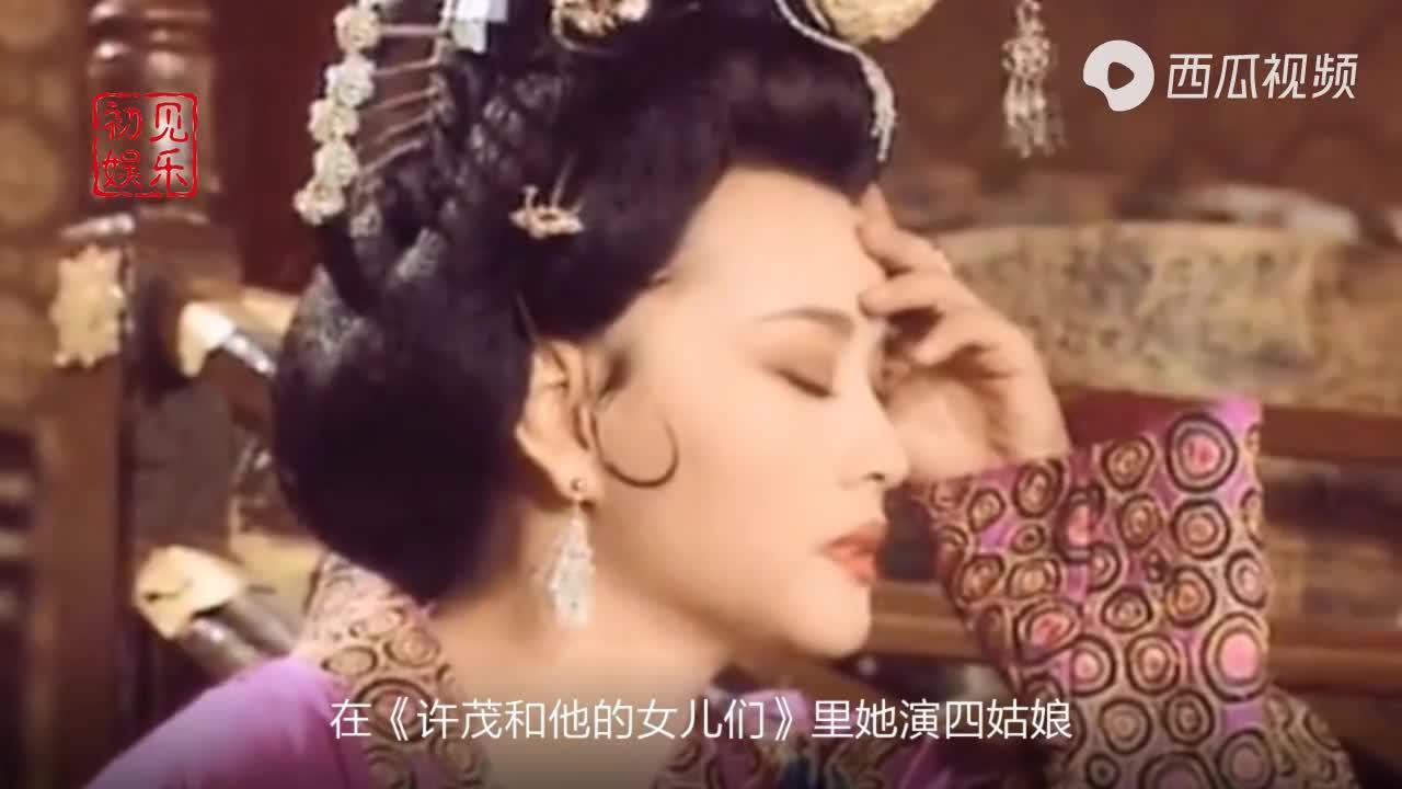 刘晓庆为她做配角,唐国强和她演情侣,43岁成亿万富婆活得潇洒
