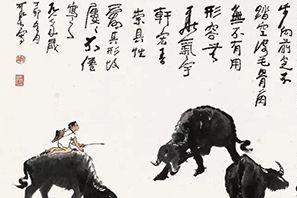 名画《五牛图》卖了6万,齐白石徒弟跟着画了一幅,结果卖出590万