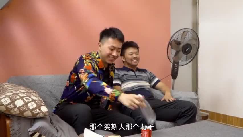 闽南语搞笑视频:二伯生活过度勤俭,教育小伙节约粮食