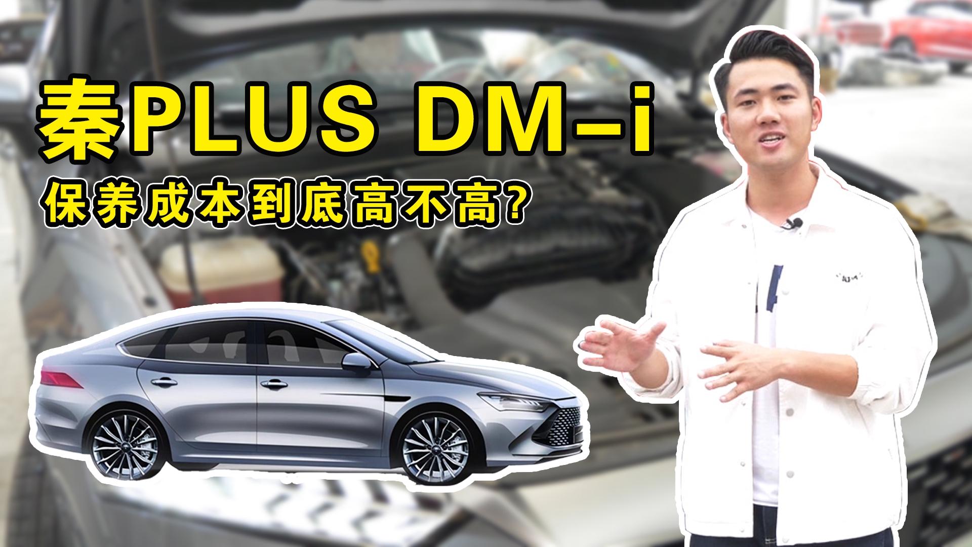 视频:比亚迪秦PLUS DM-i首保都做哪些项目,后期保养成本高不高?