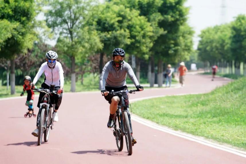 骑行最美绿道,私享城市慢生活