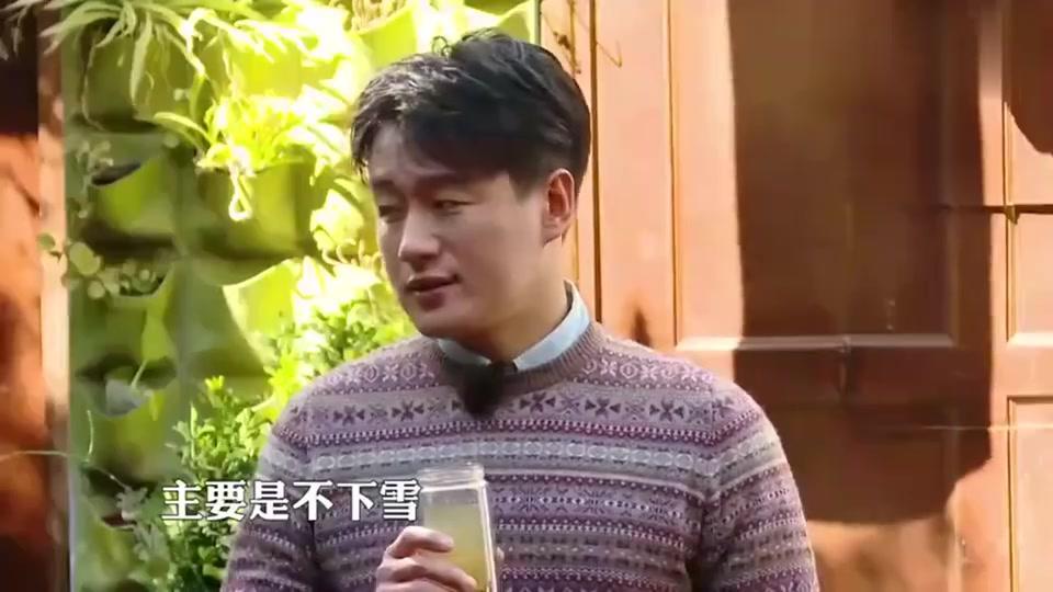 佟大为感叹北京不下雪,好气喔!孟非:东北人都来南方看雪景