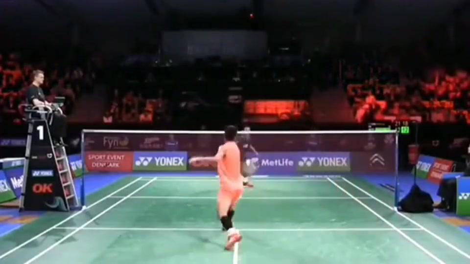 羽毛球:谌龙的拉吊突击,让对手防不胜防