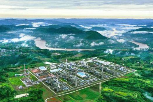 中国石化这所大气田累计产气超200亿方!