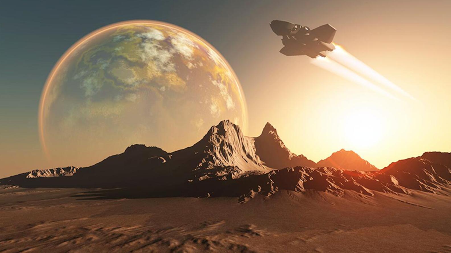 核动力火箭启动!从地球到火星30天即达,去比邻星只需12年