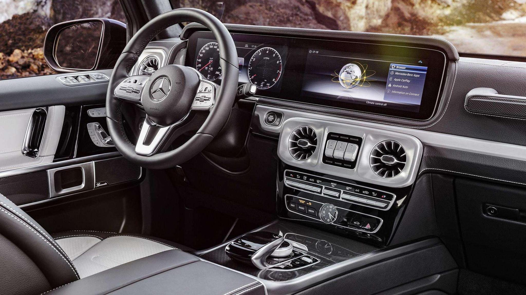 全新奔驰S级车门设计曝光!全触控按钮能3D touch,满满的黑科技