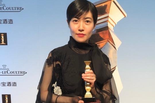 韩国女艺人沈恩敬获日本电影奥斯卡颁奖礼最佳女主演奖