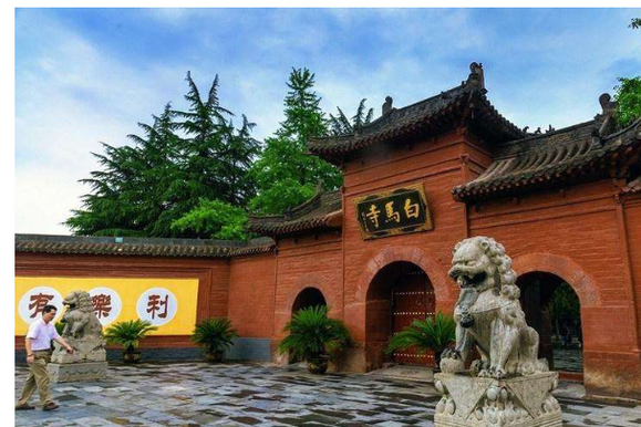 佛教祖庭白马寺门前的白马,是汉代的还是唐代的?看完就知道了