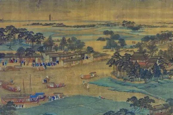 他的画作,融合了西洋画法,又始终保持着中国画的韵味