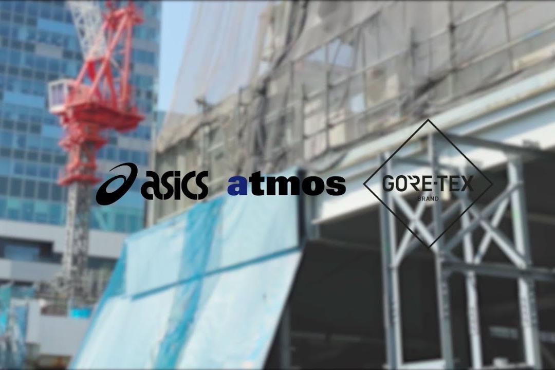 atmos x asics GEL-VENTURE 6 G-TX 联名系列发布,即将发售