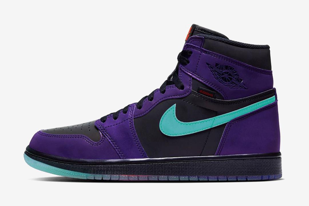 """也是黑紫脚趾,Air Jordan 1 High Zoom Court Purple""""曝光"""""""