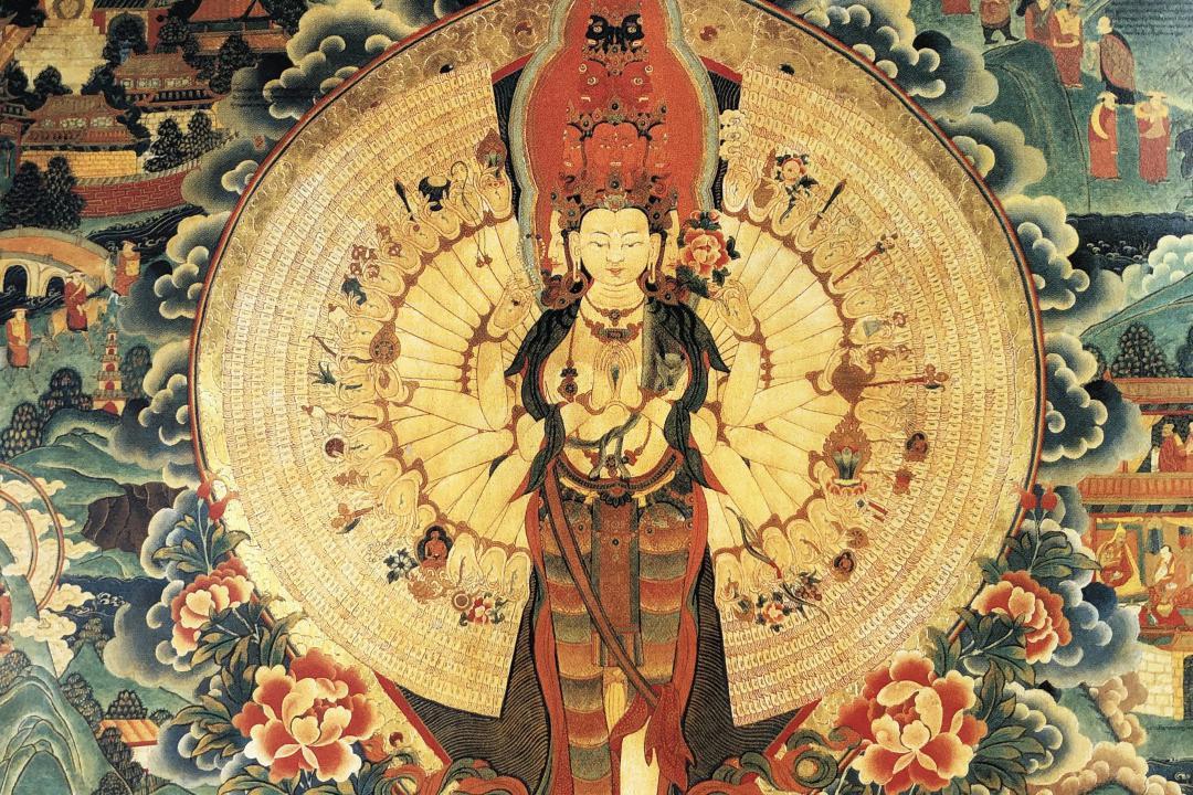 【西藏文化集】来自布达拉宫的这朵莲花,让婆娑雪域成为涌莲初地