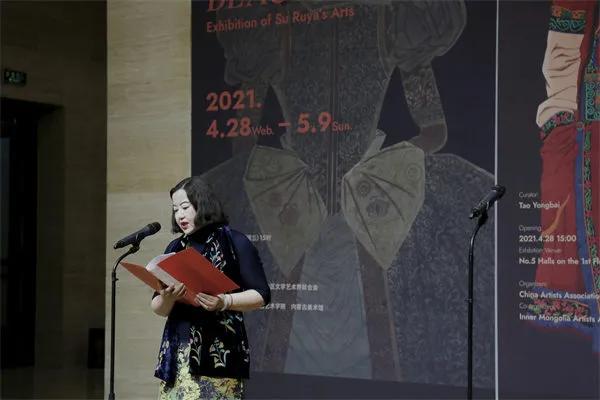 """""""至真至美——苏茹娅艺术展""""在中国美术馆启幕"""