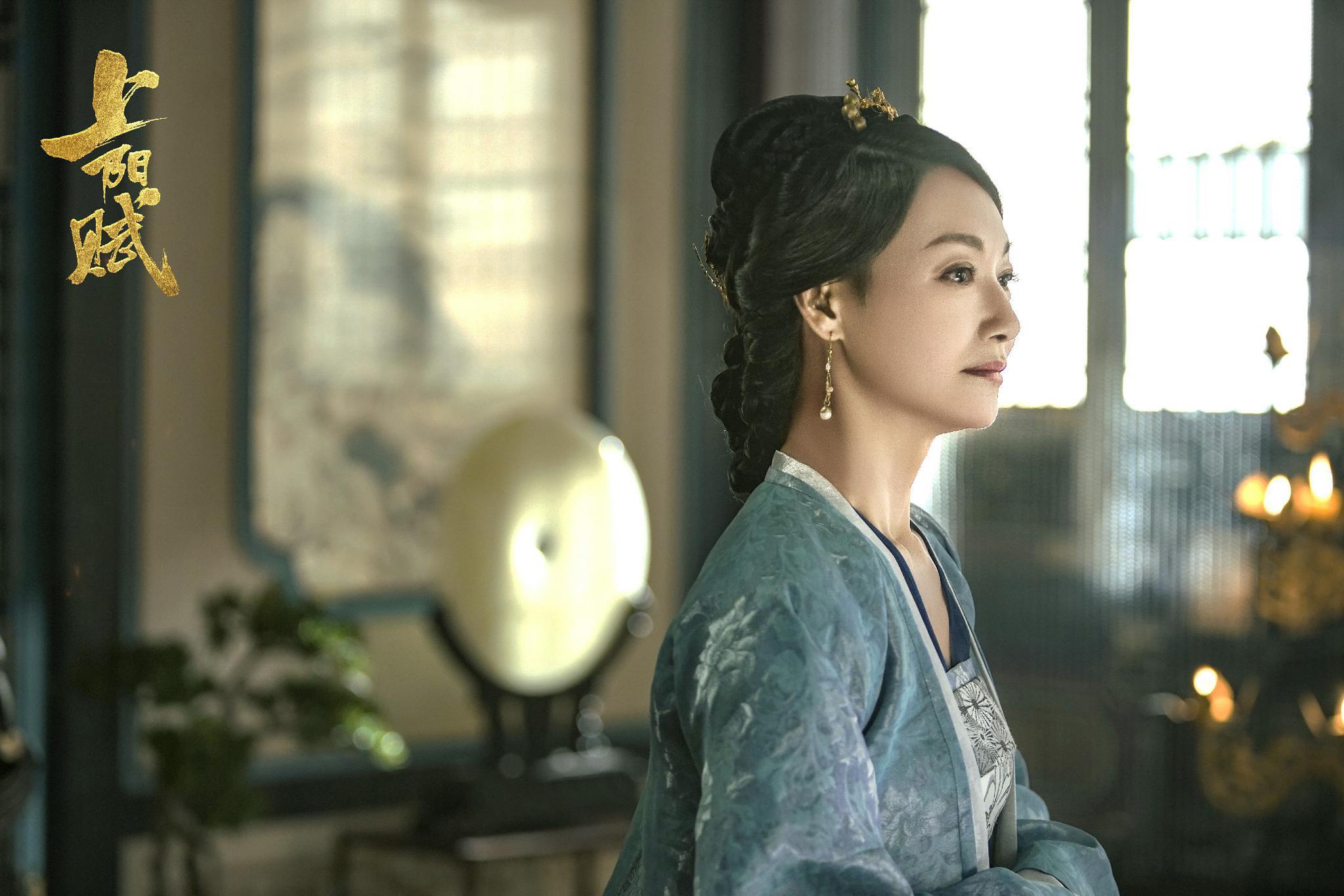 惠英红主演电视剧《上阳赋》热播 四场哭戏展现精湛演技