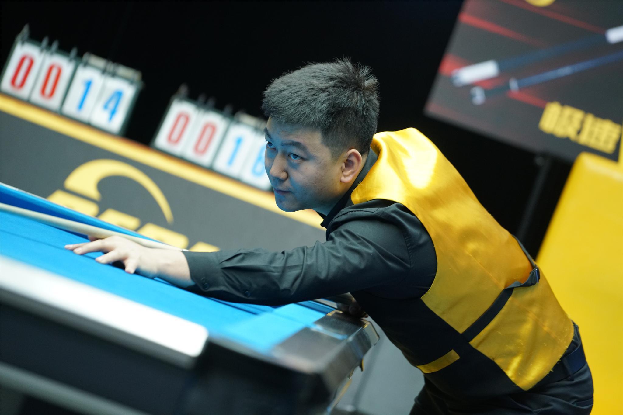 【LCBA中式九球擂台赛】马红军最后一局绝杀对手,晋级四强