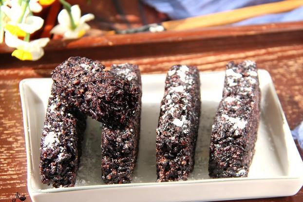 紫糯米的新吃法,外脆里糯,好吃到停不下来,全家都爱吃