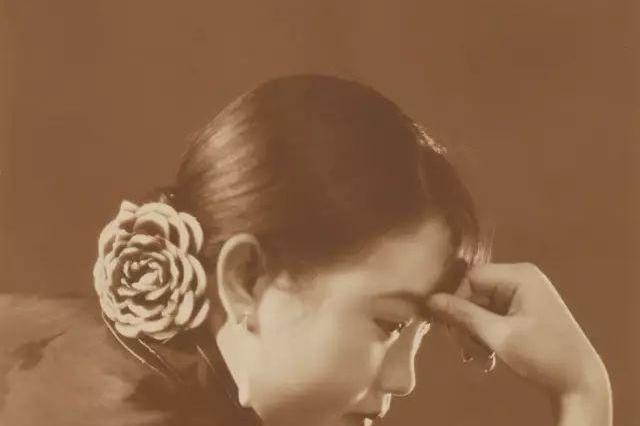 旧时光:民国影后胡蝶的10张绝版老照片,她的美惊艳了一个世界