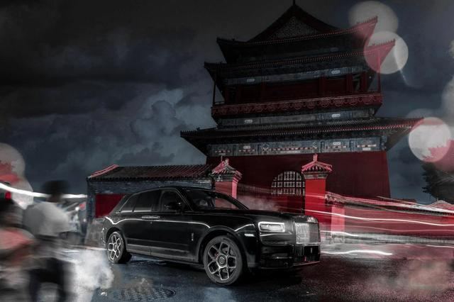 顶级富豪的夜生活有多炫?劳斯莱斯Black Badge库里南夜游京城