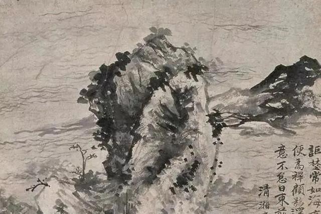 泼墨塑造野逸气息,看石涛屡变屡奇山水,诗画之意尽显