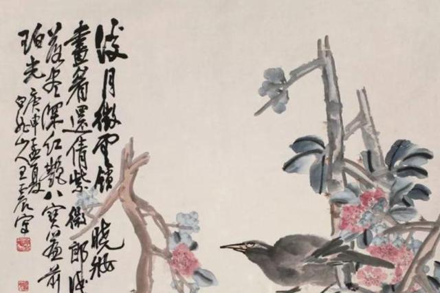 被商界耽误的画家,曾助力师傅成为上海画坛领袖,并与他秋色平分