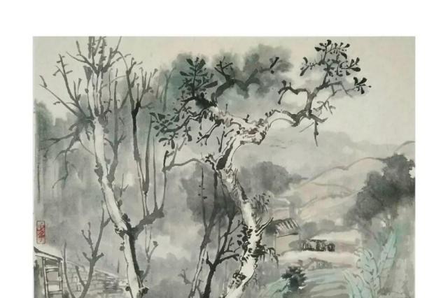 画路心语 画家朱剑:红尘三千丈,独爱山水间