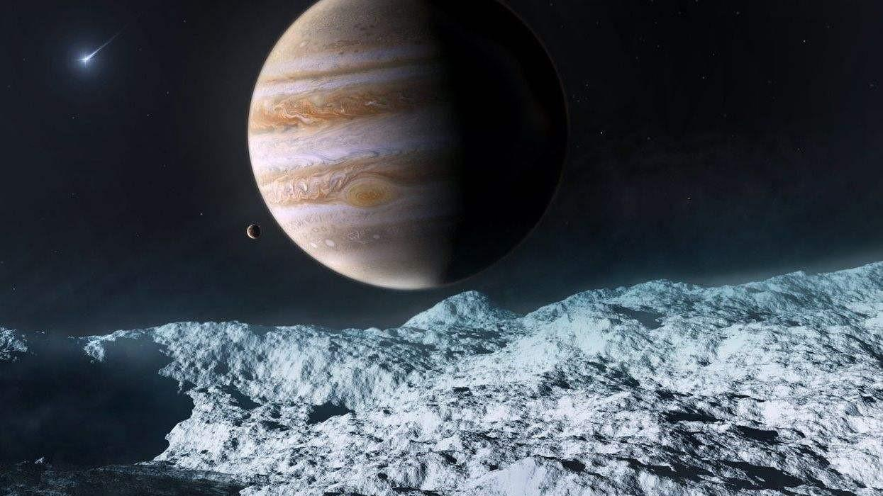 自带防御武器的木卫二,人类根本无法靠近,登陆瞬间就会失去生命