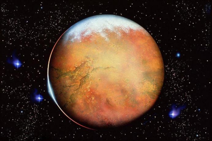 如何才能让火星变成宜居星球?有人提议往火星涂满二氧化硅气凝胶