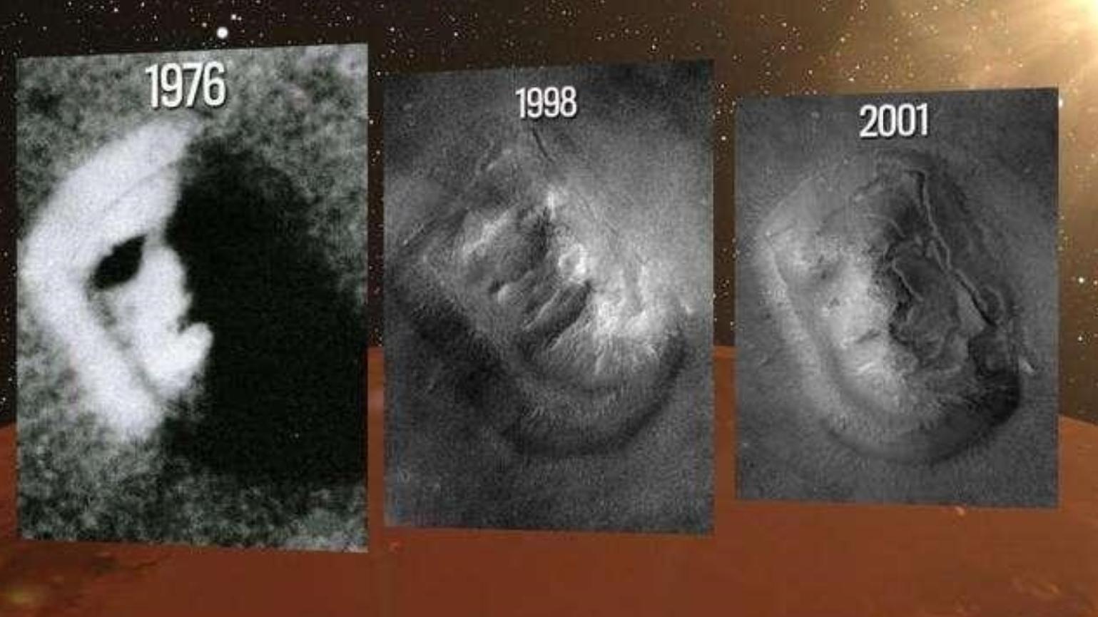 """火星表面出现""""哭泣的脸"""",引科学家注意,难道是火星人的杰作?"""