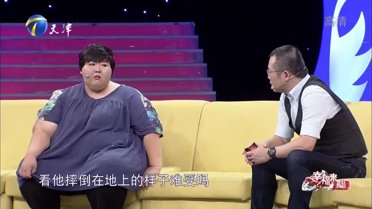 胖女儿体重高达400斤,脾气暴躁曾,跟爸爸发生冲突直言很后悔