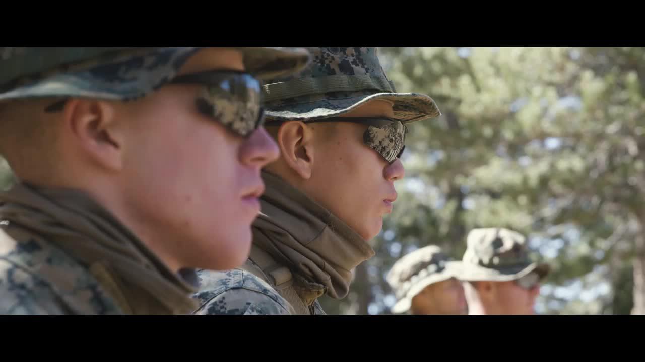 美国海军陆战队Displace军事宣传片