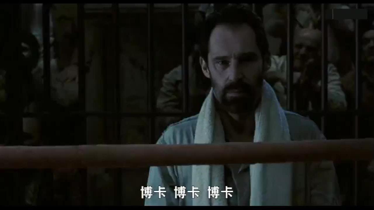 超热血对决!监狱格斗之王对战世界拳王,打得难分难