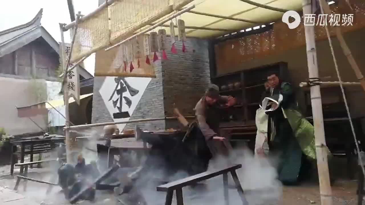 狼殿下動作製作花絮:王大陸、李沁、肖戰、辛芷蕾、郭書瑤