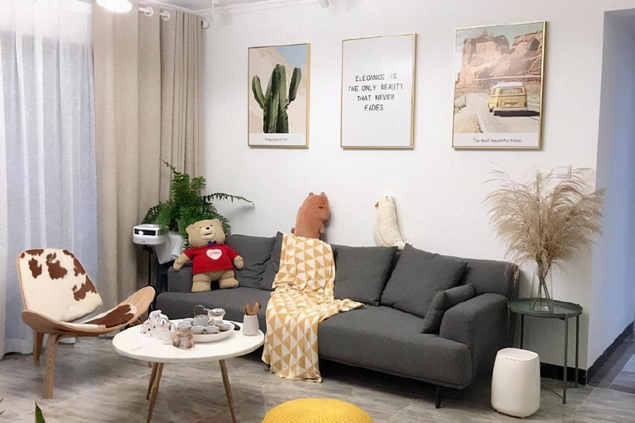 90平的温馨小家,拥有独立衣帽间和主卧浴缸,让家充满幸福感!