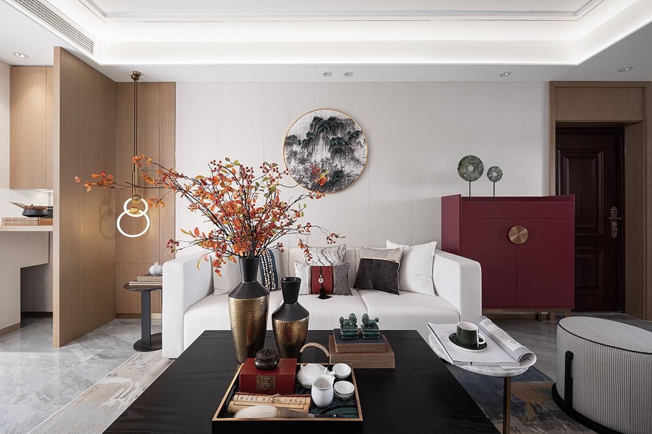 高颜值客厅登场,打造惊艳新中式装修!