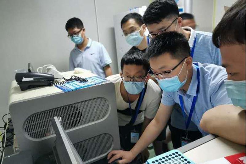 泰安市中心医院张志军支援北京抗击疫情:24天,不分昼夜精准检测
