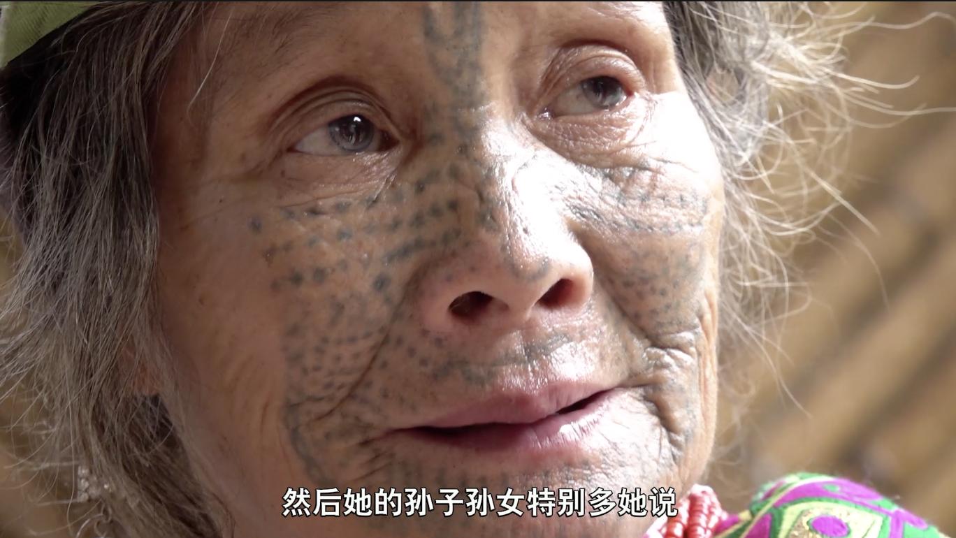 最神秘的少数民族,寻找云南独龙族纹面女,全国只剩十余人